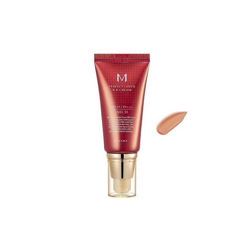 MISSHA M Perfect Cover BB Cream SPF42/PA+++ Golden Beige (No.31)