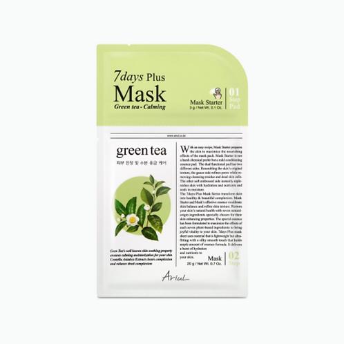 ARIUL 7 Days PLUS Mask - Green Tea