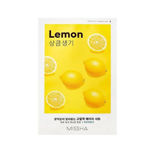 MISSHA Airy Fit Sheet Mask - Lemon