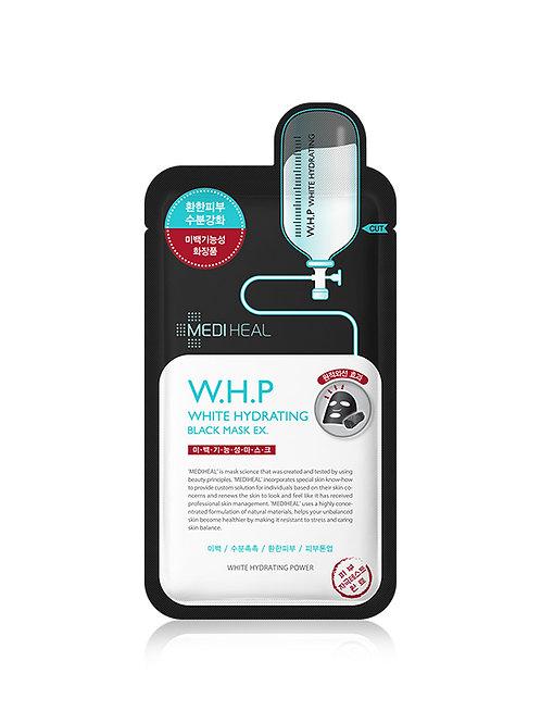 MEDIHEAL W.H.P White Hydrating Black Mask  - SET OF 5