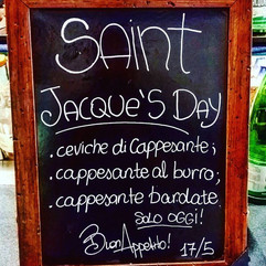 Saint Jacque's Day!