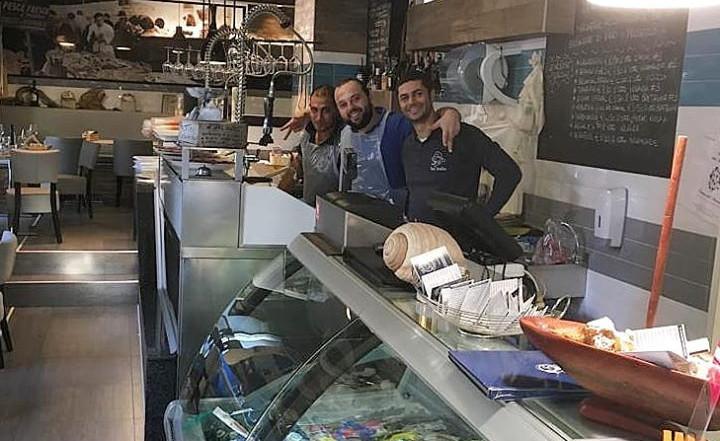 Fabrizio, Angelo e Sharif