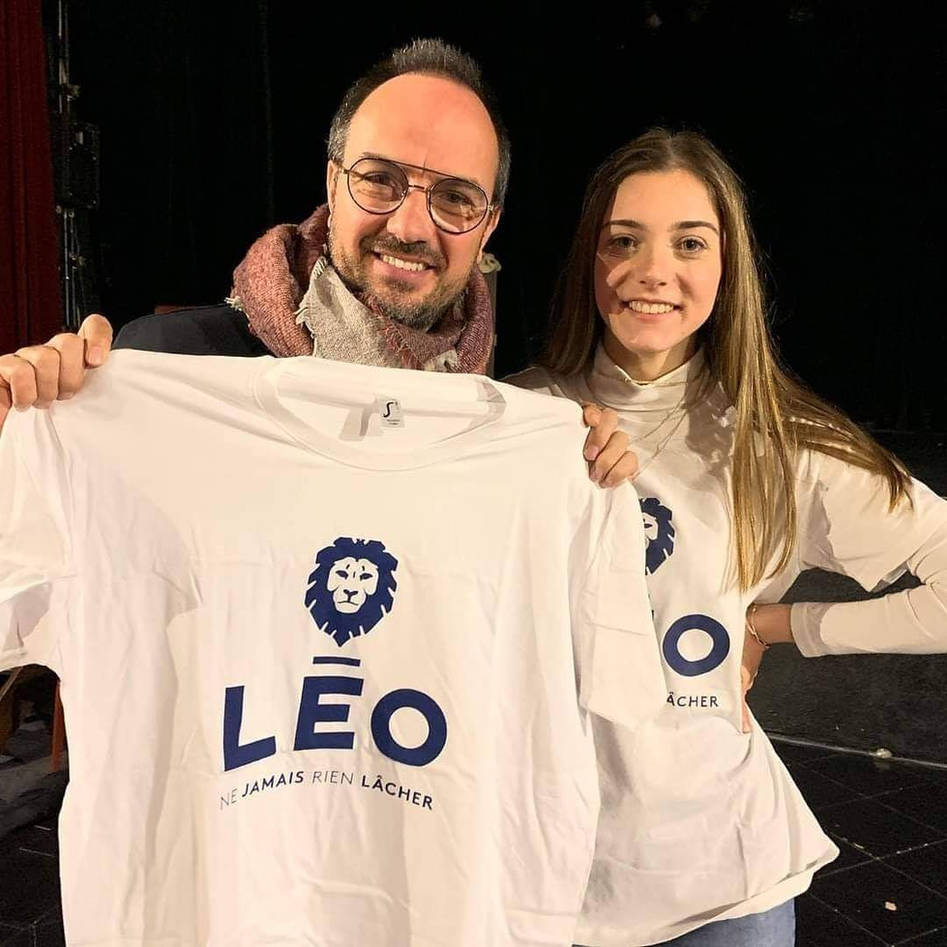 Jarry soutient l'association Léo