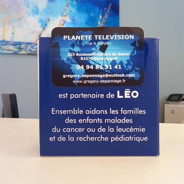 Merci Planète Télévision à St Aygulf ❤❤🦁