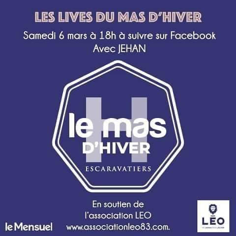 Le Mas d'hiver soutient l'association Léo