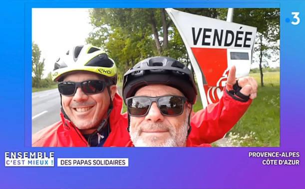 LÉO PIERROT BIKE TOUR sur France 3 PACA