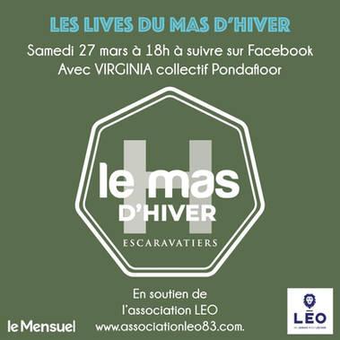 Samedi 27 mars interview de Lise et Live du Mas!!
