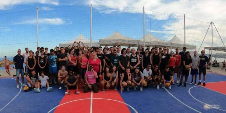 Initiative solidaire❤🦁: tournoi de basket