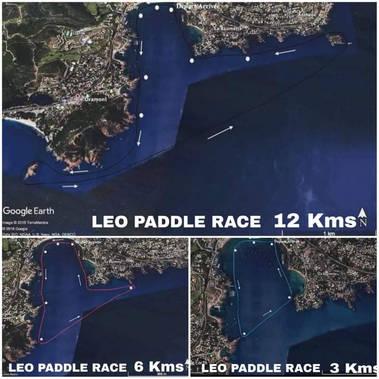 LÉO PADDLE RACE #4: les parcours