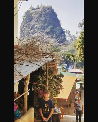 LEO AROUND THE WORLD 🌍🦁 Birmanie 🇲🇲