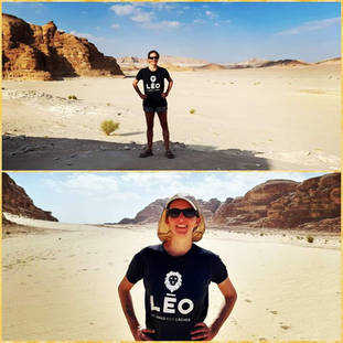 LEO AROUND THE WORLD en Égypte!!!