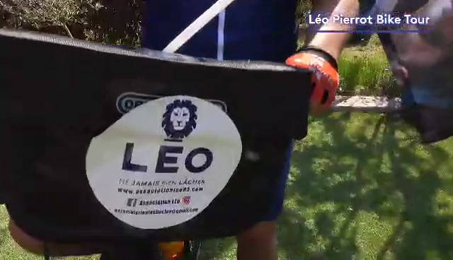 Voilà le LEO PIERROT BIKE TOUR
