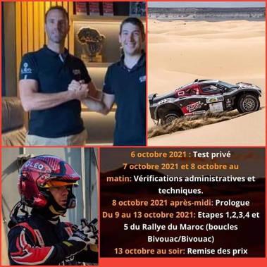 RALLYE DU MAROC avec la team Mathieu Serradori Rallye
