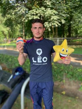 L'association Léo au Championnat d'Europe Junior🥉❤💪