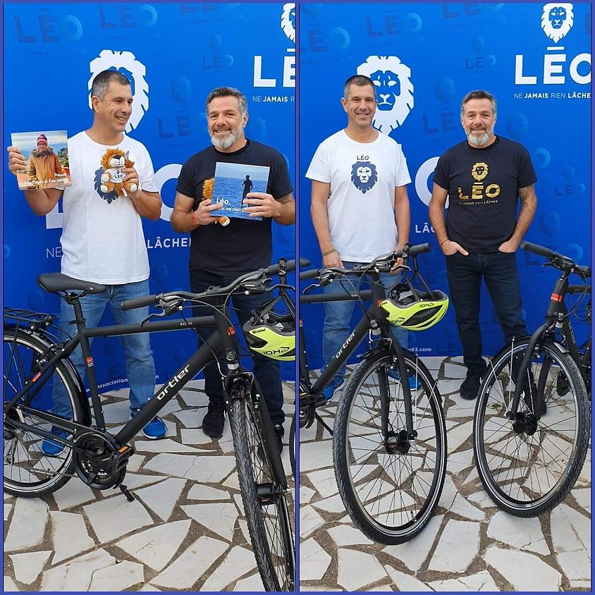 Le LEO PIERROT BIKE TOUR