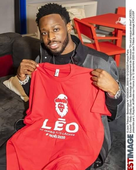 DADJU soutient l'Association Léo