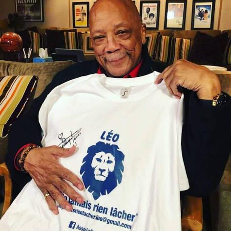 Quincy JONES soutient Léo