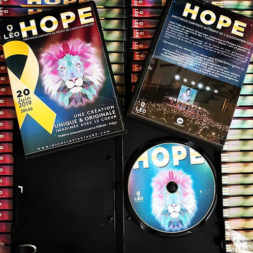 DVD HOPE spectacle JUIN 2019