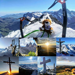 LÉO AROUND THE WORLD dans les cimes