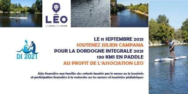 INITIATIVE SOLIDAIRE: Sur la Dordogne Intégrale avec Julien Campana!