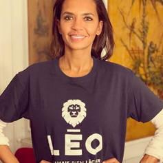 Karine LE MARCHAND soutient l'association Léo