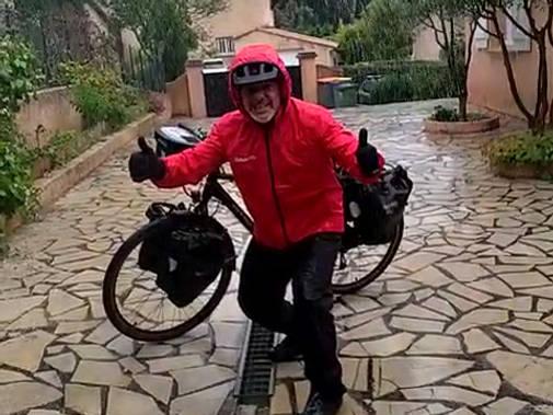 Léo Pierrot Bike Tour : TEST PLUIE CHECK!!