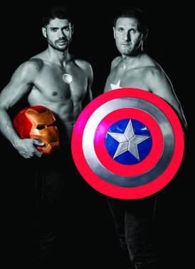 Nos supers héros!!