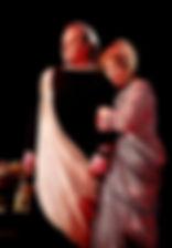 Ольга Остроумова и Сергей Виноградов в спектакле «Римская комедия (Дион)»