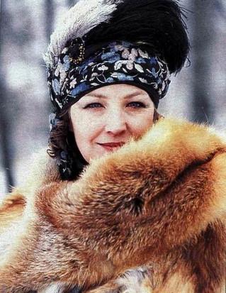"""Ольга Остроумова. Фильм """"Филер"""", 1988 год"""