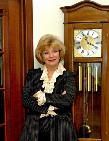 Ольга Остроумова. Фотография с фотосесии, 2000-е