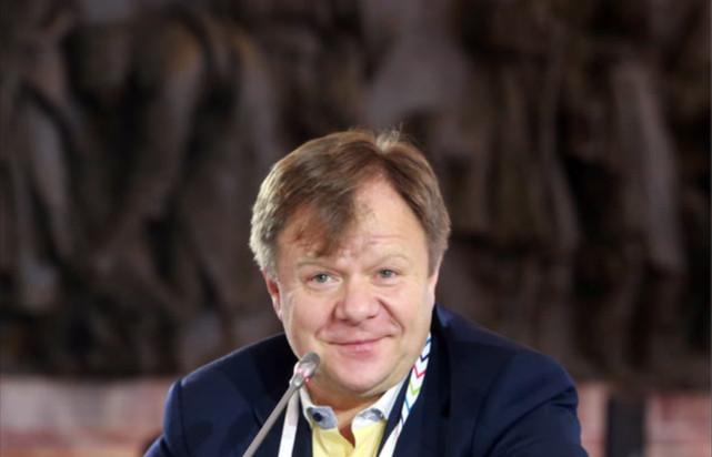 Игорь Бутман. Фото с V Санкт-Петербургского международного культурного форума, 2017 год