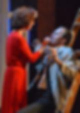 Анна Большова. Фотография спектакля«Семейный ужин в половине второго»