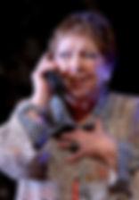 Ольга Волкова в спектакле «Семейный ужин в половине второго»
