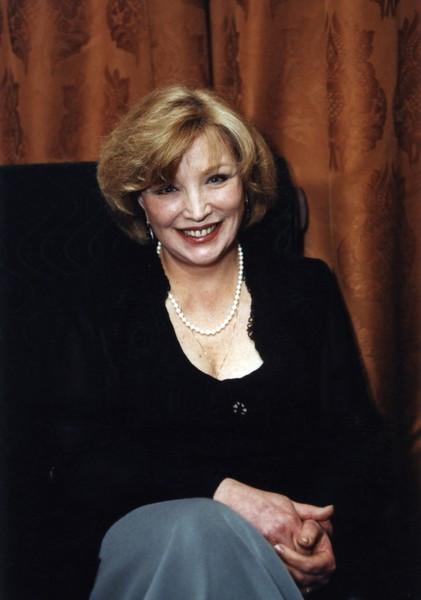 Ольга Остроумова. Фотография с фотосесии, 1990-е