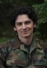 Илья Бледный. Фотография со съёмок сериала«Отражение»