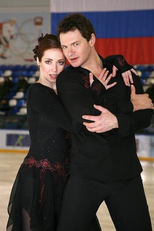 "Анна Большова. Сериал ""Жаркий лед"", 2008 год"