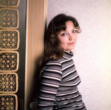 Ольга Остроумова. Фотография с фотосесии, 1970-е