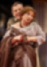 Ольга Остроумова и Георгий Тараторкин в спектакле «Римская комедия (Дион)»