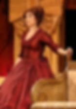 Ольга Тумайкина. Фотография спектакля «Мордасовские страсти»