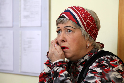 """Ольга Волкова. Сериал """"Повороты судьбы"""", 2013 год"""