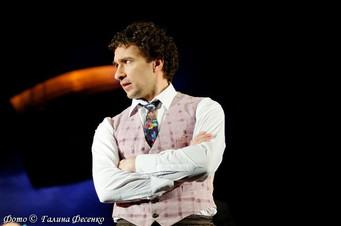 Григорий Антипенко. Фотография спектакля«Одесса 913»