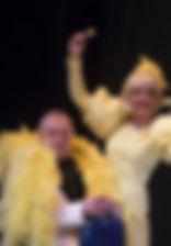 """Андрей Зарецкий. Фотография спектакля""""Девичник над вечным покоем"""""""
