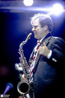 Игорь Бутман, Fantine и Московский джазовый оркестр на Klaipeda Castle Jazz Festival в Литве, 2013 год