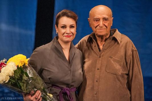 Ольга Тумайкина. Фотография спектакля «Потерпевший Гольдинер»