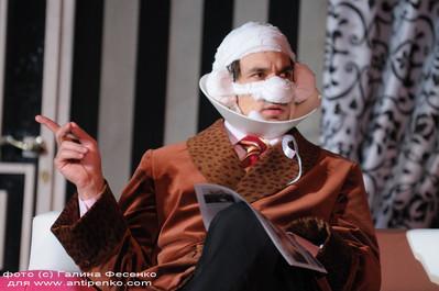 Григорий Антипенко. Фотография спектакля«Результат налицо»
