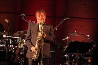 Игорь Бутман. Фото Марины Иваниченко с выступления на International Jazz Day в ЮНЕСКО, 2012 год