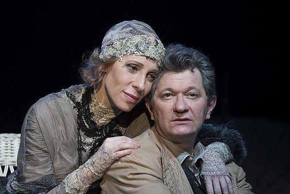 Спектакль «Крик лангусты». Юлия Рутберг и Андрей Ильин
