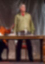 Анатолий Васильев в спектакле «Семейный ужин в половине второго»