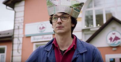 Илья Бледный. Фотография со съёмок сериала«Доктор Котов»