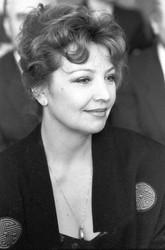 Ольга Остроумова. Фотография с фотосесии, 1980-е